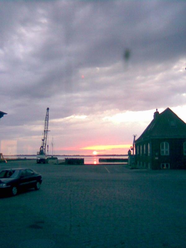 Rudkøbing Havn - mere aftenstemning